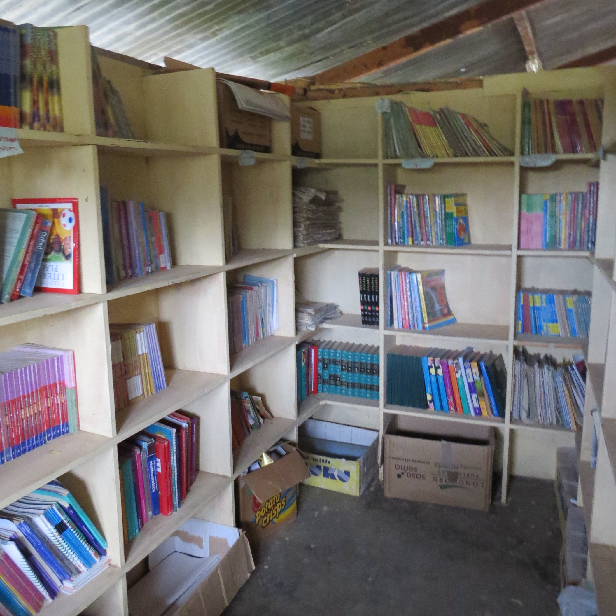 Library at Kokwa Primary School
