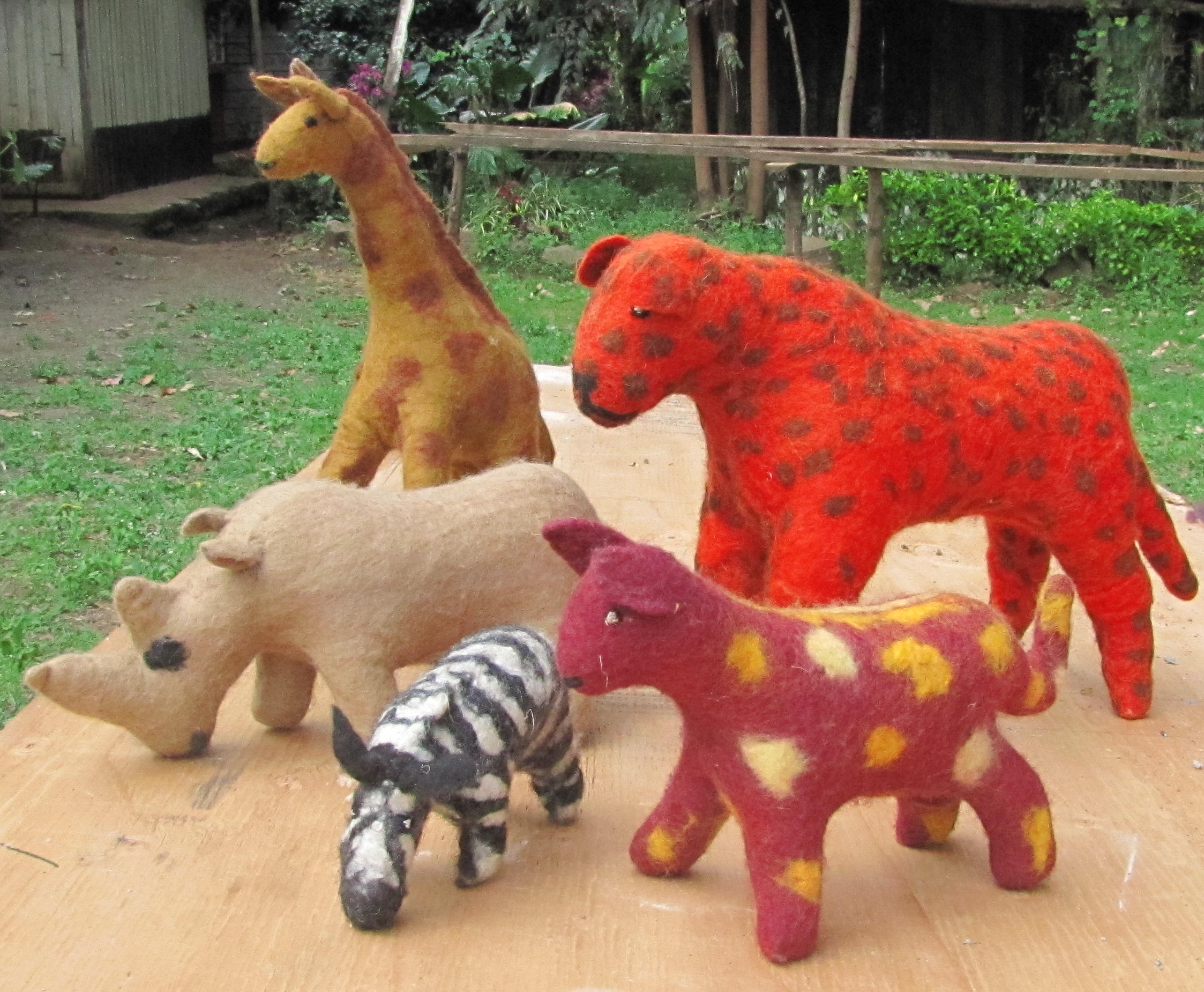 Felted critters