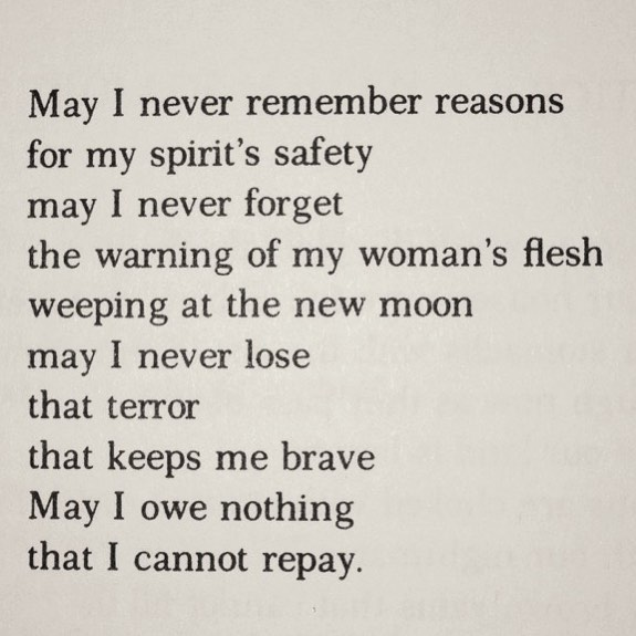 It's impossible to pick just one Audre Lorde piece on her birthday, so I'll share 3 ❤️