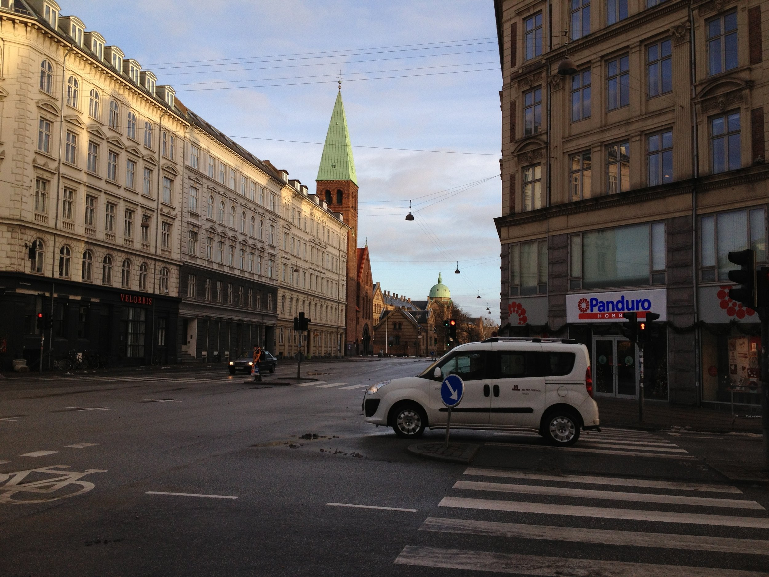 my beloved Copenhagen in the morning