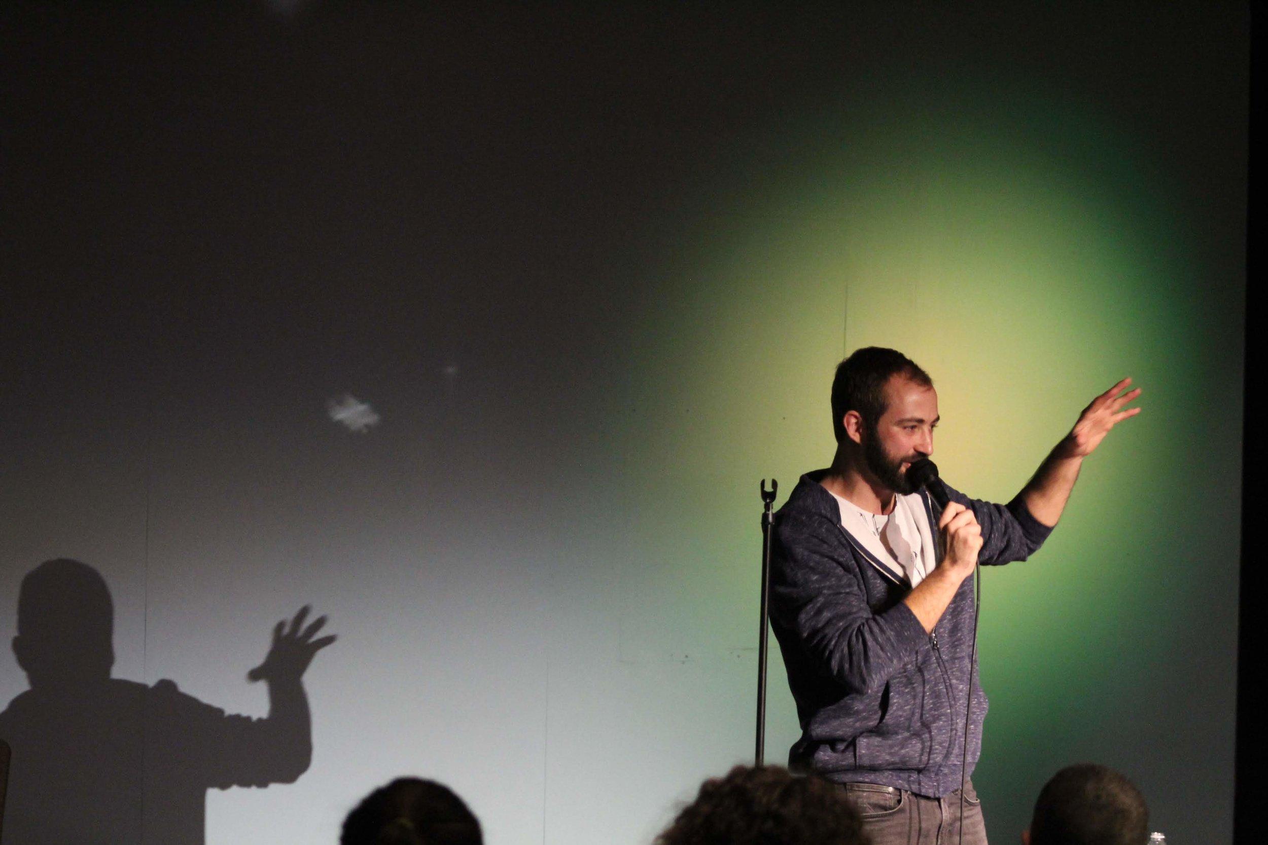 photo: Josh Woolwine   amazing shadow puppetry: Joseph Coker