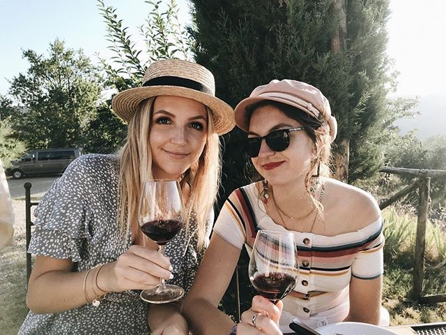 Just like WINE our friendship gets better with TIME 💃🏼🍷#NicolinatakesITALY
