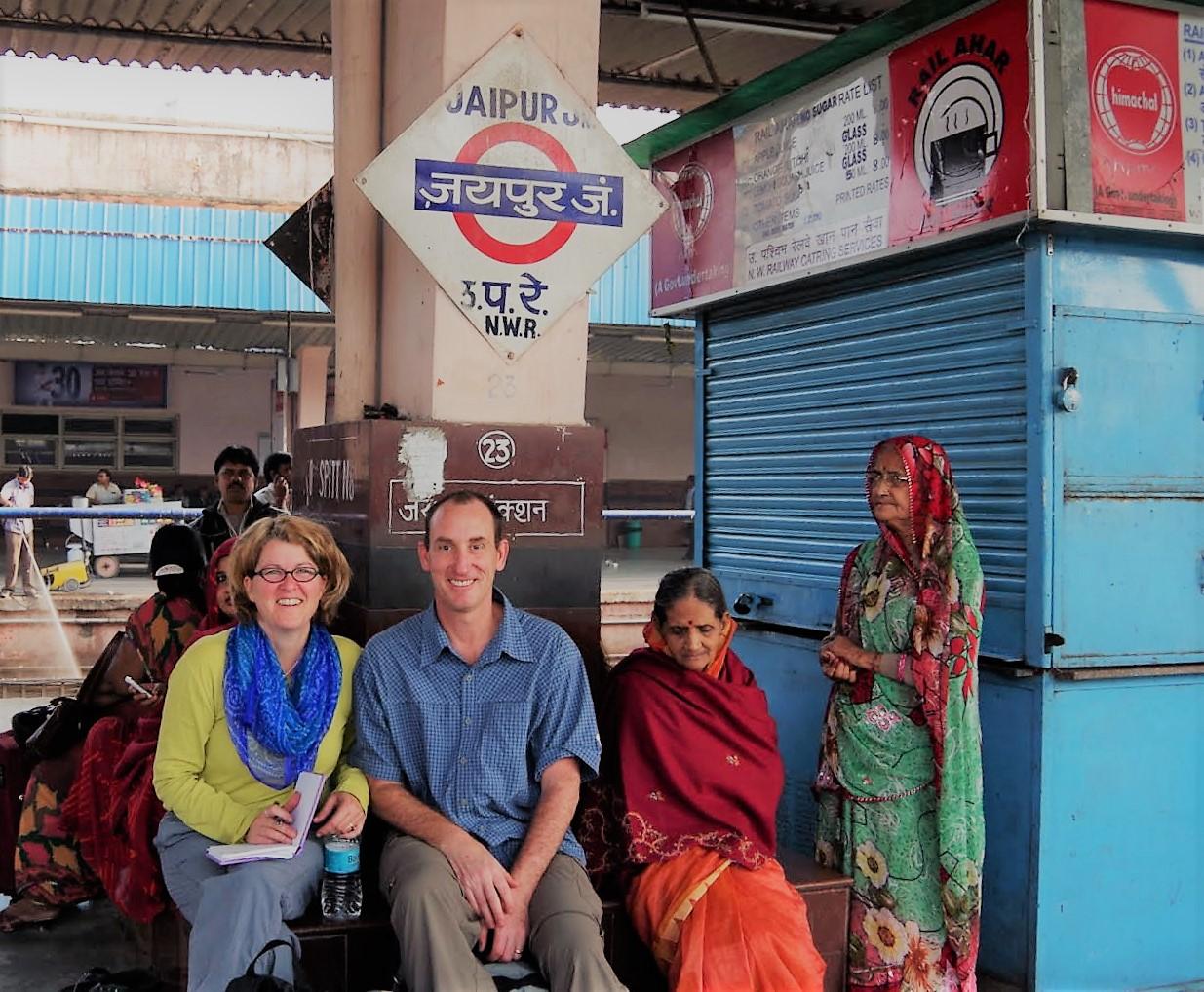 Travels through India