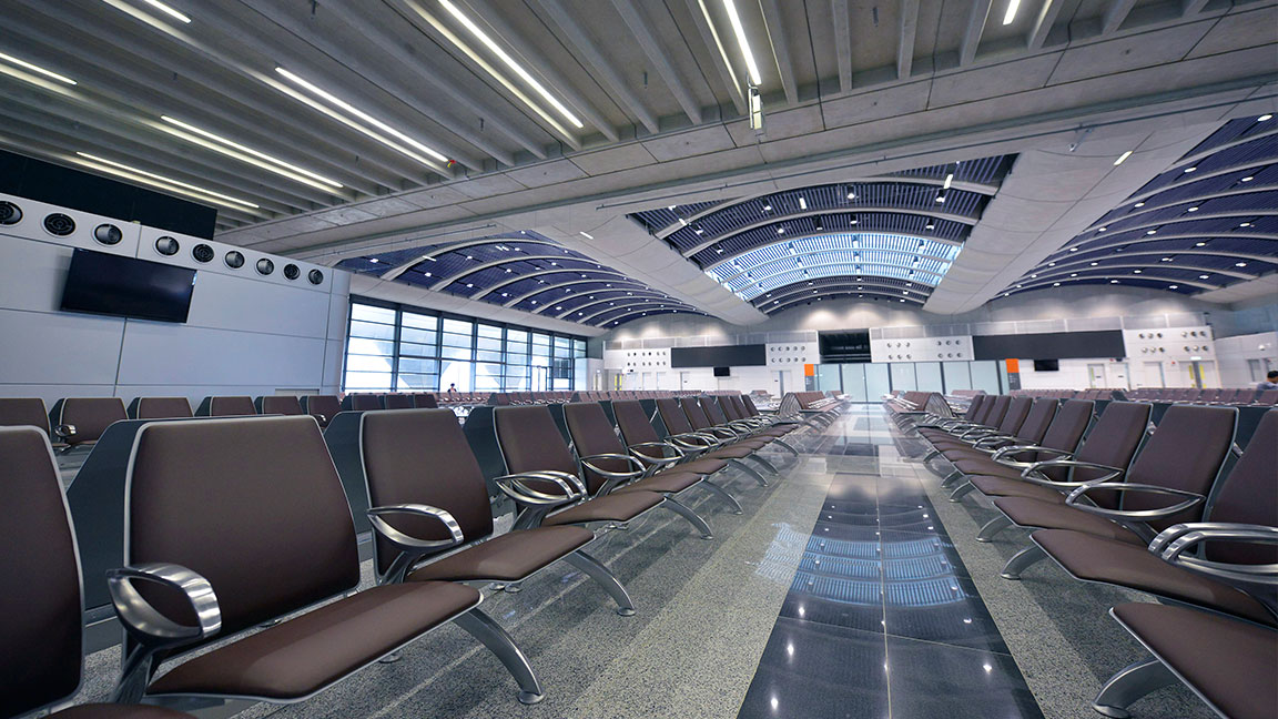 Arconas   THE LEADING DESIGNER AND MANUFACTURER OF FURNITURE FOR AIRPORTS AND PUBLIC SPACES.