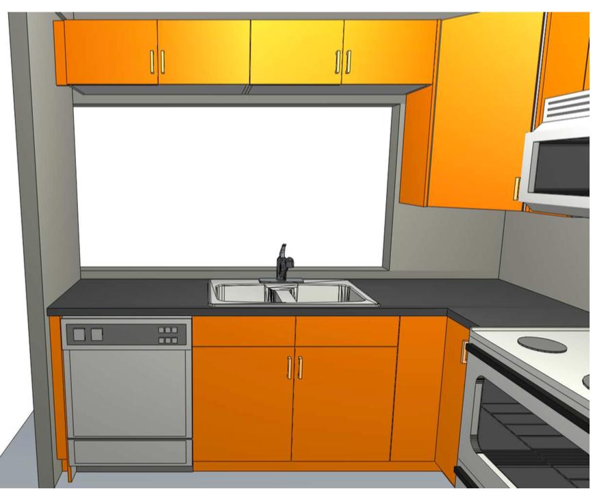 8 X 8 Kitchen Design Modern Family Kitchens