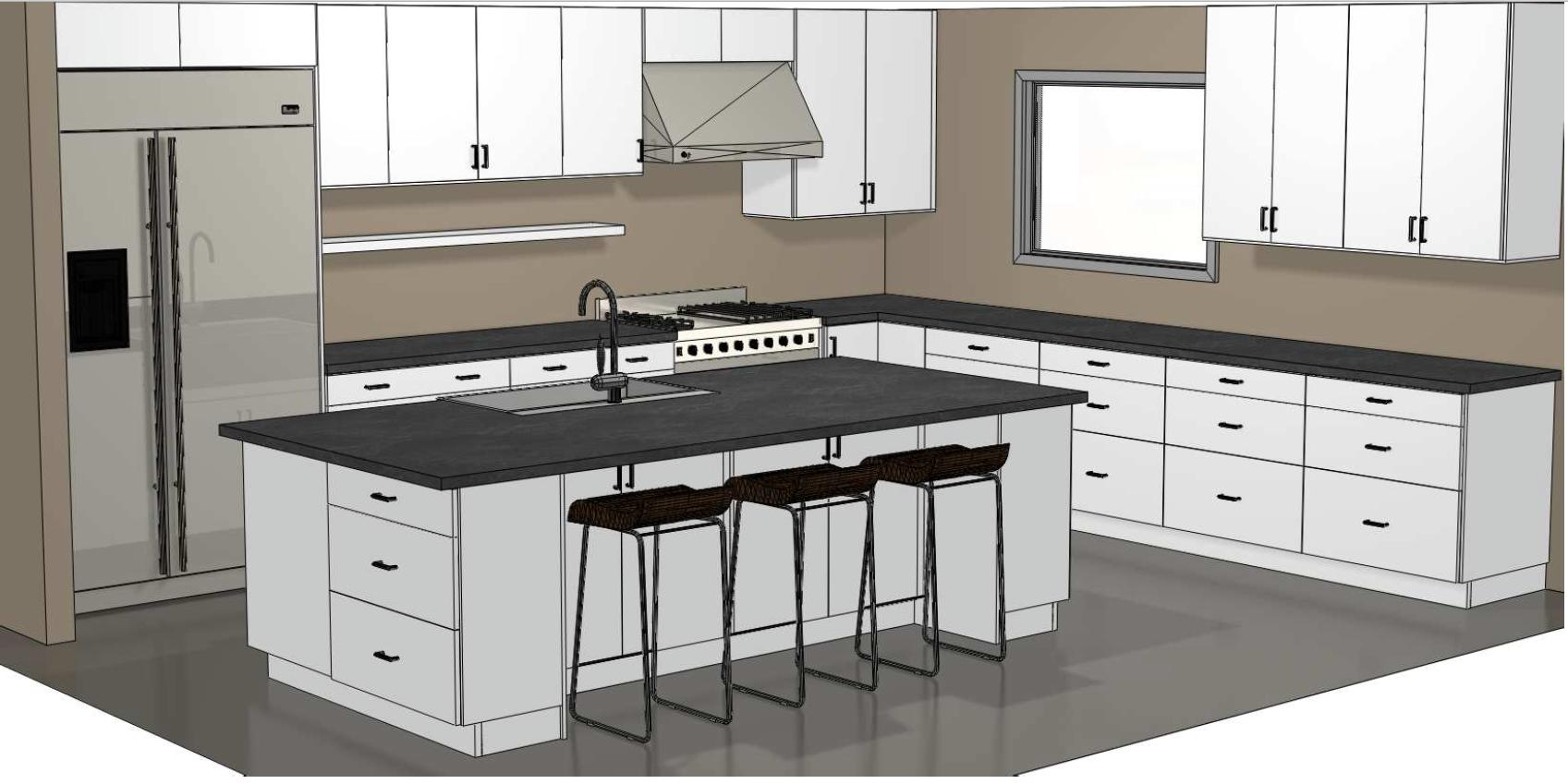 16 X 14 Kitchen Modern Kitchen Design Cabinets