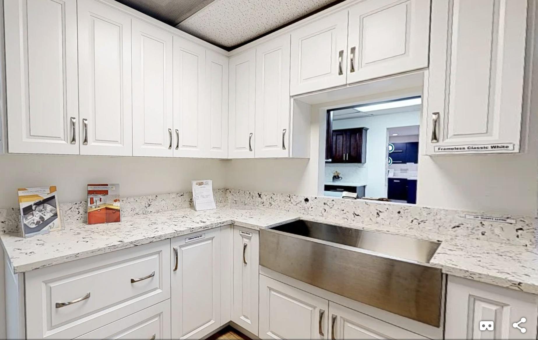 Tour a SHAKER CLASSIC WHITE kitchen