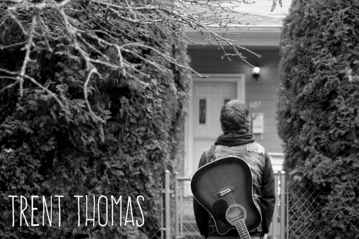 """Trent Thomas - Acoustic EP  Trent describes himself as an """"emotional 21-year-old Alt/Rock/Acoustic/Pop-punk artist from Oregon""""."""
