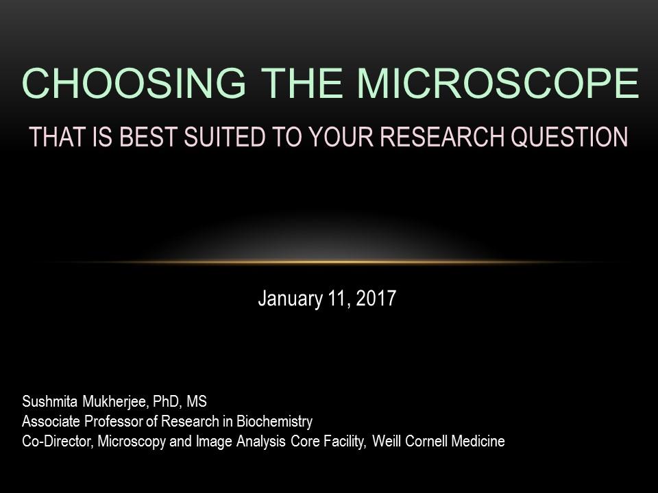 Seminar on January 11, 2018
