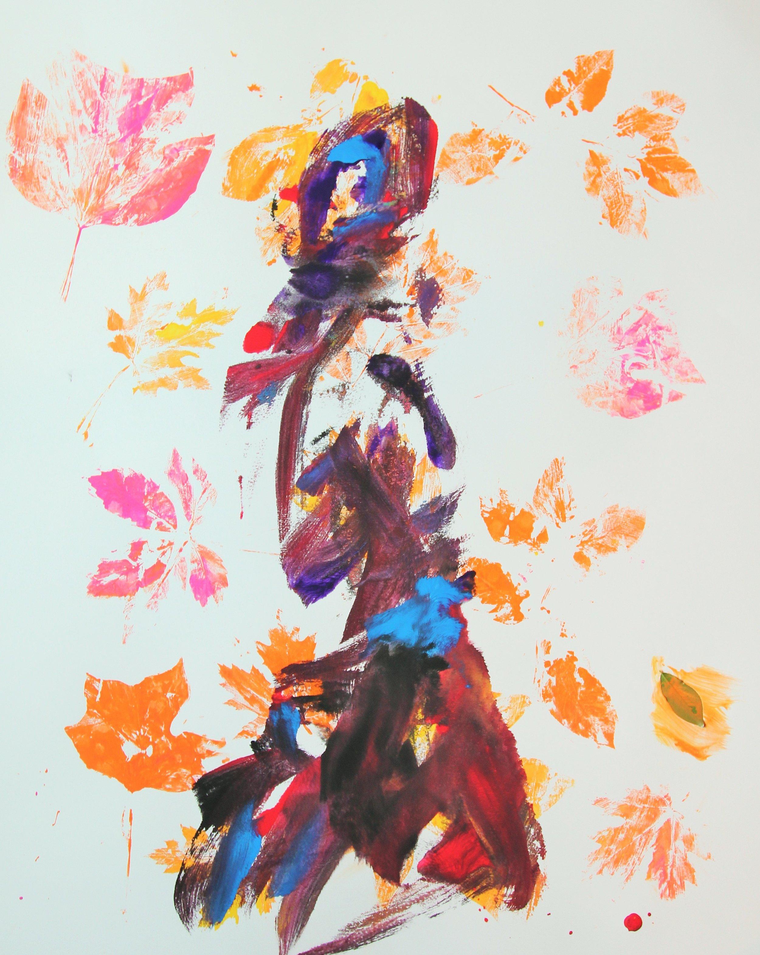 Mother Art (Tribute to Aviva Rahmani) Sally Deskins acrylic on board, 2016