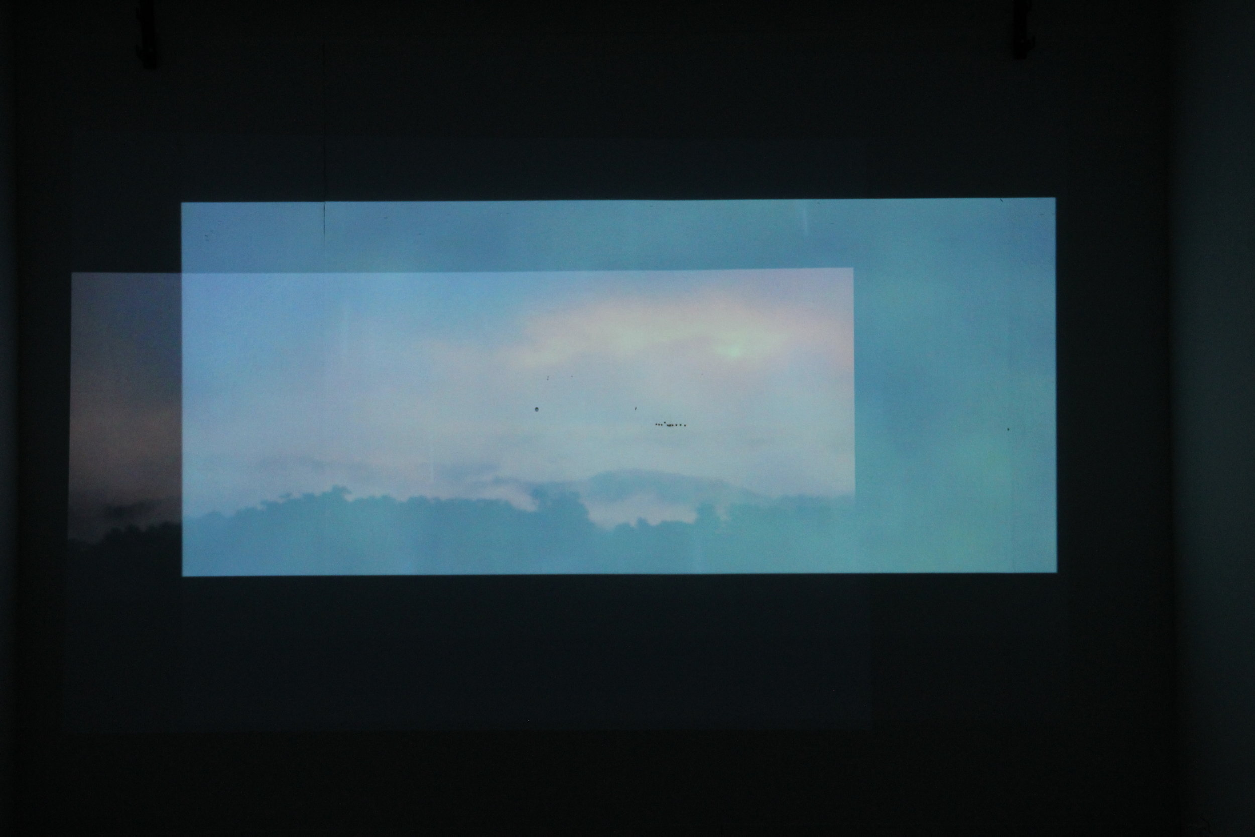 Olivia Lichterman Positive Space  Overlapping video projections, 2018