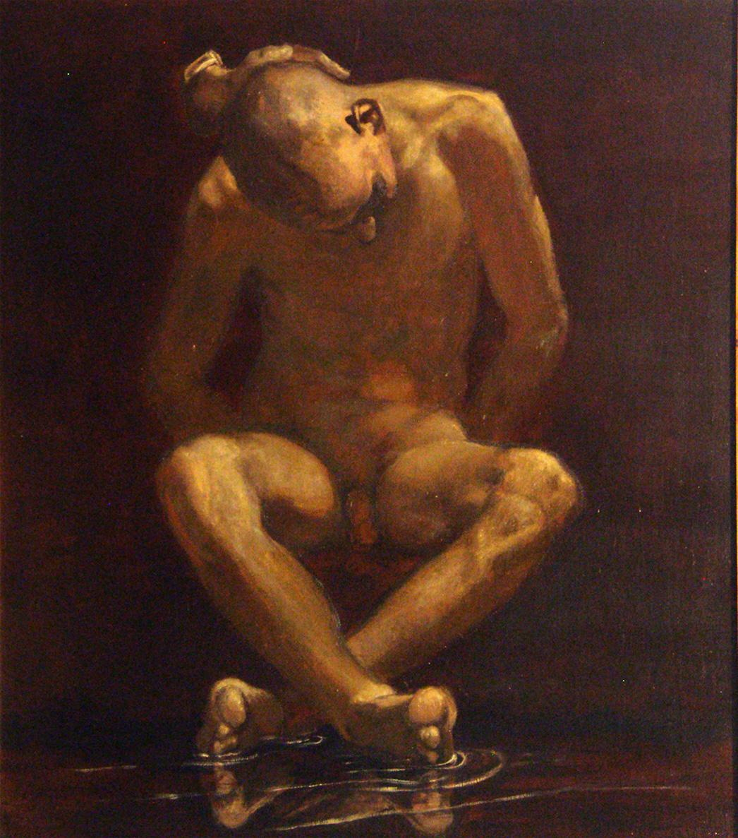 Narcissos, 95x106cm  2013
