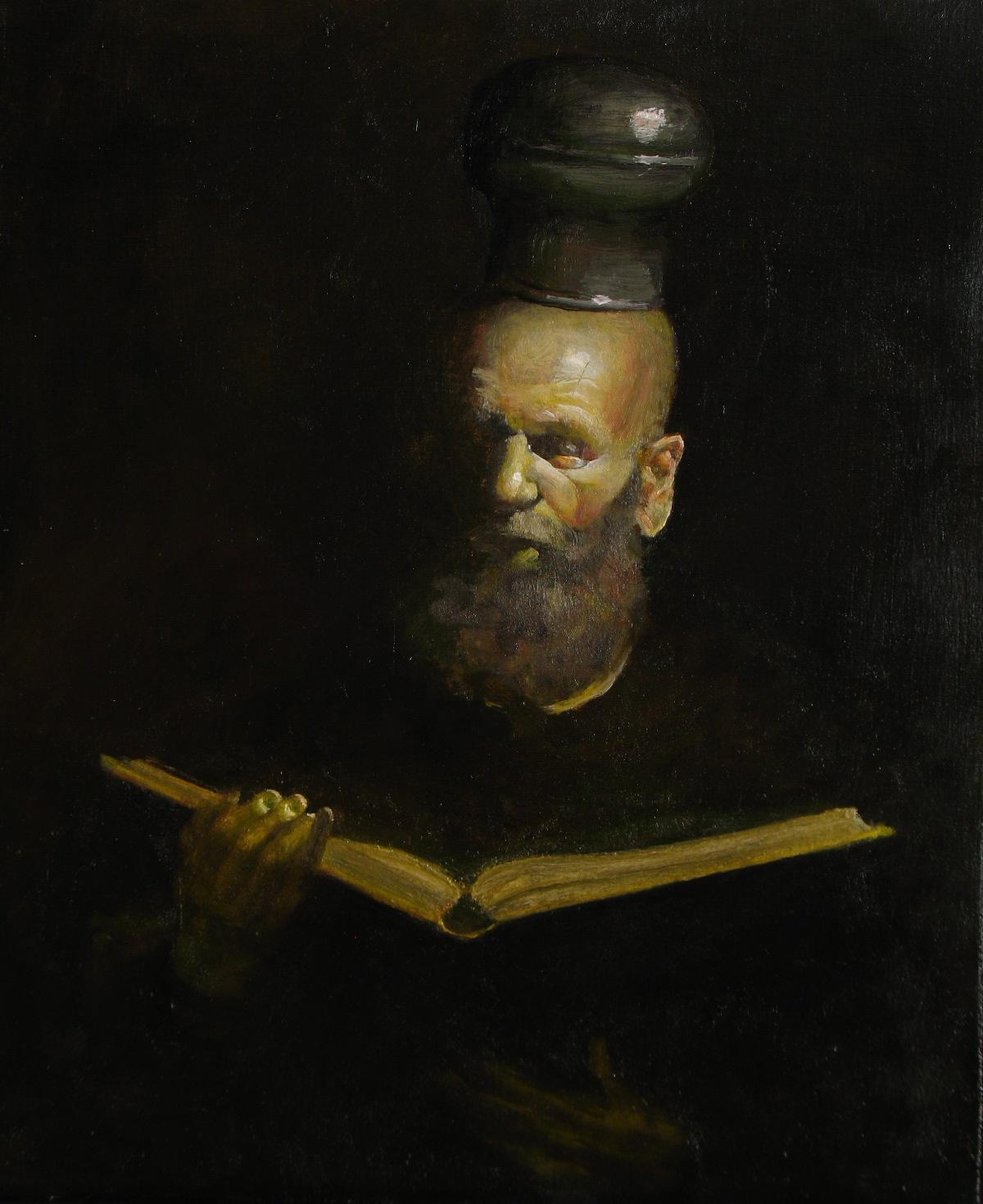 The Liturgy, 50x60cm, 2013