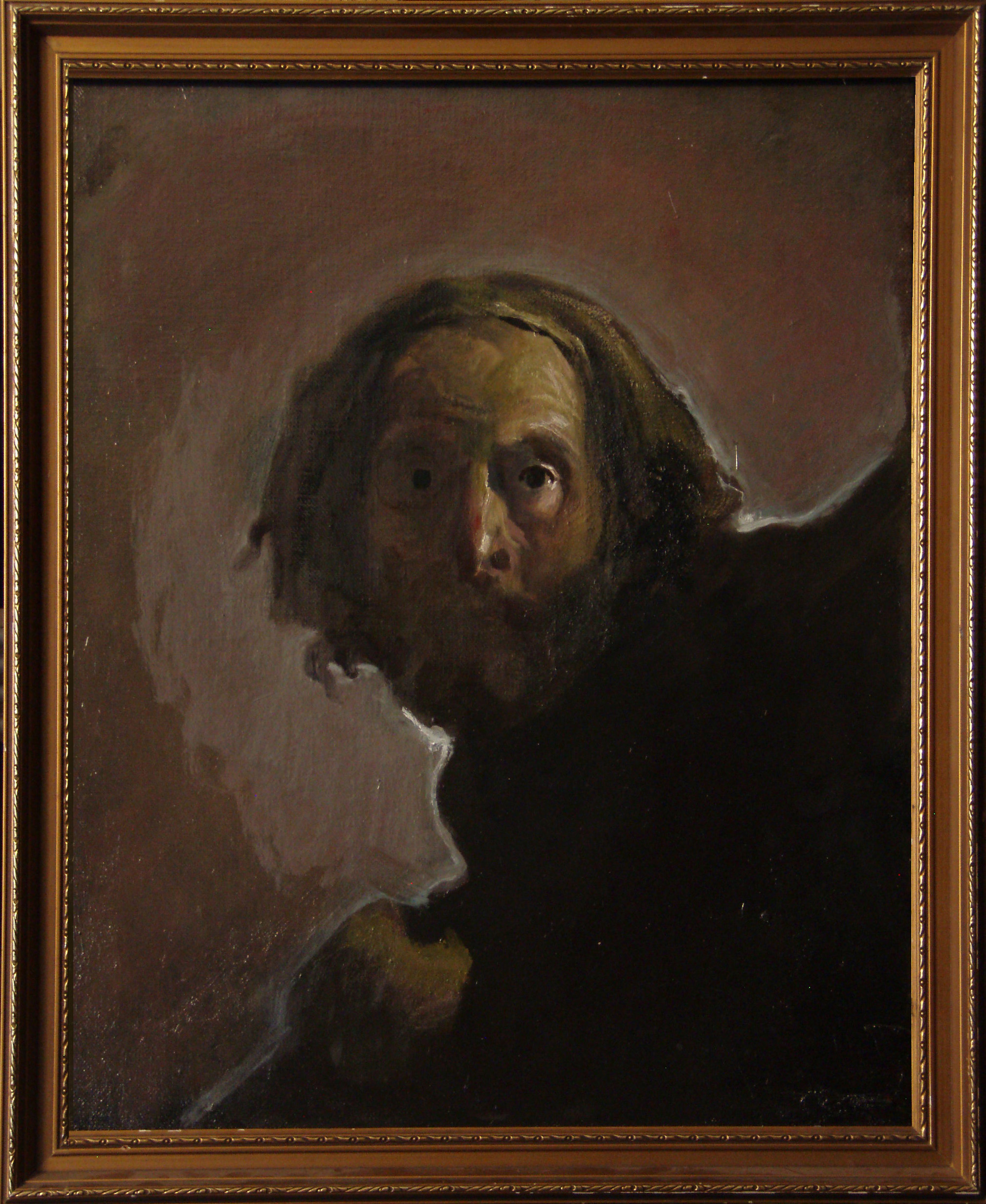 Self portrait, 50x60cm, 2016