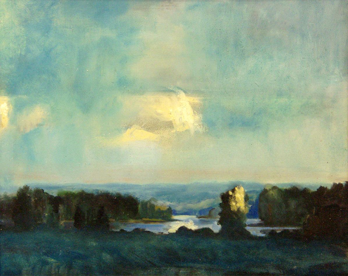 Landscape, 52x65cm  2009