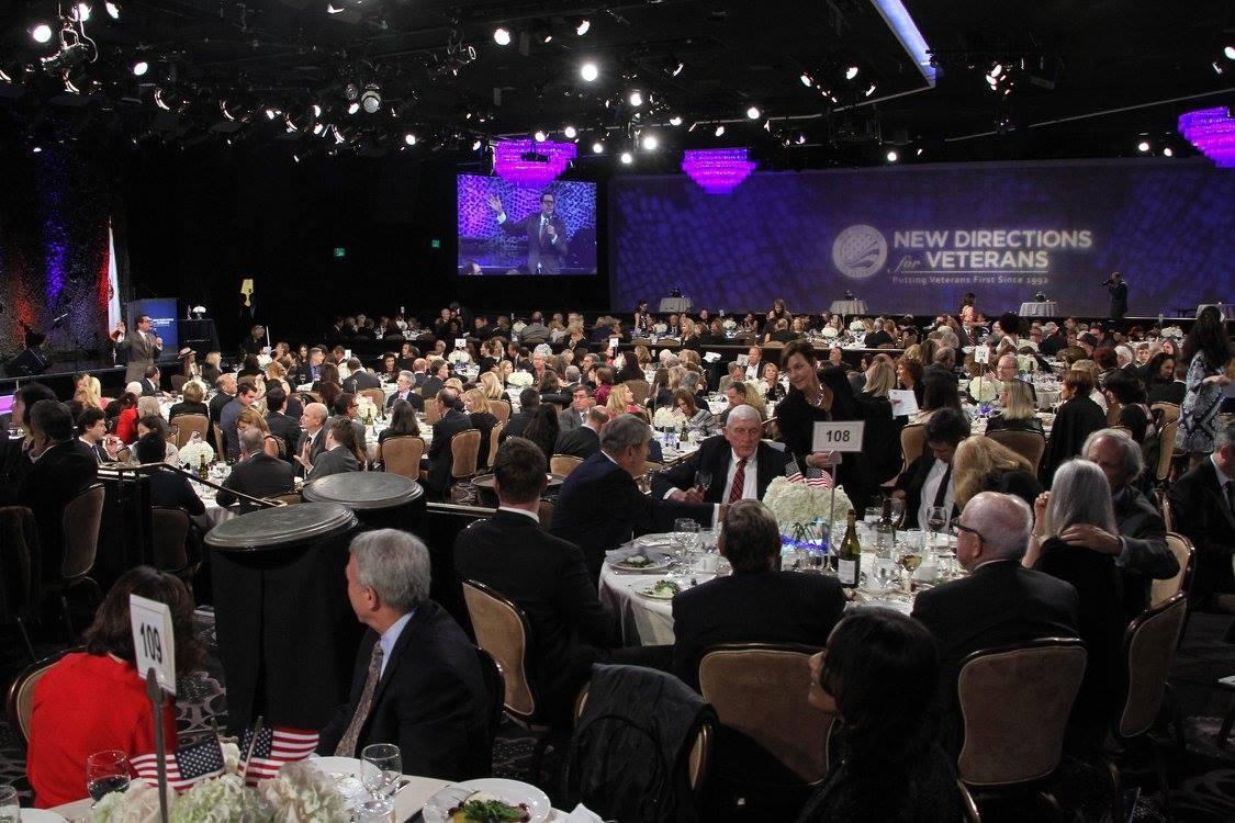 Full ballroom during the event's program