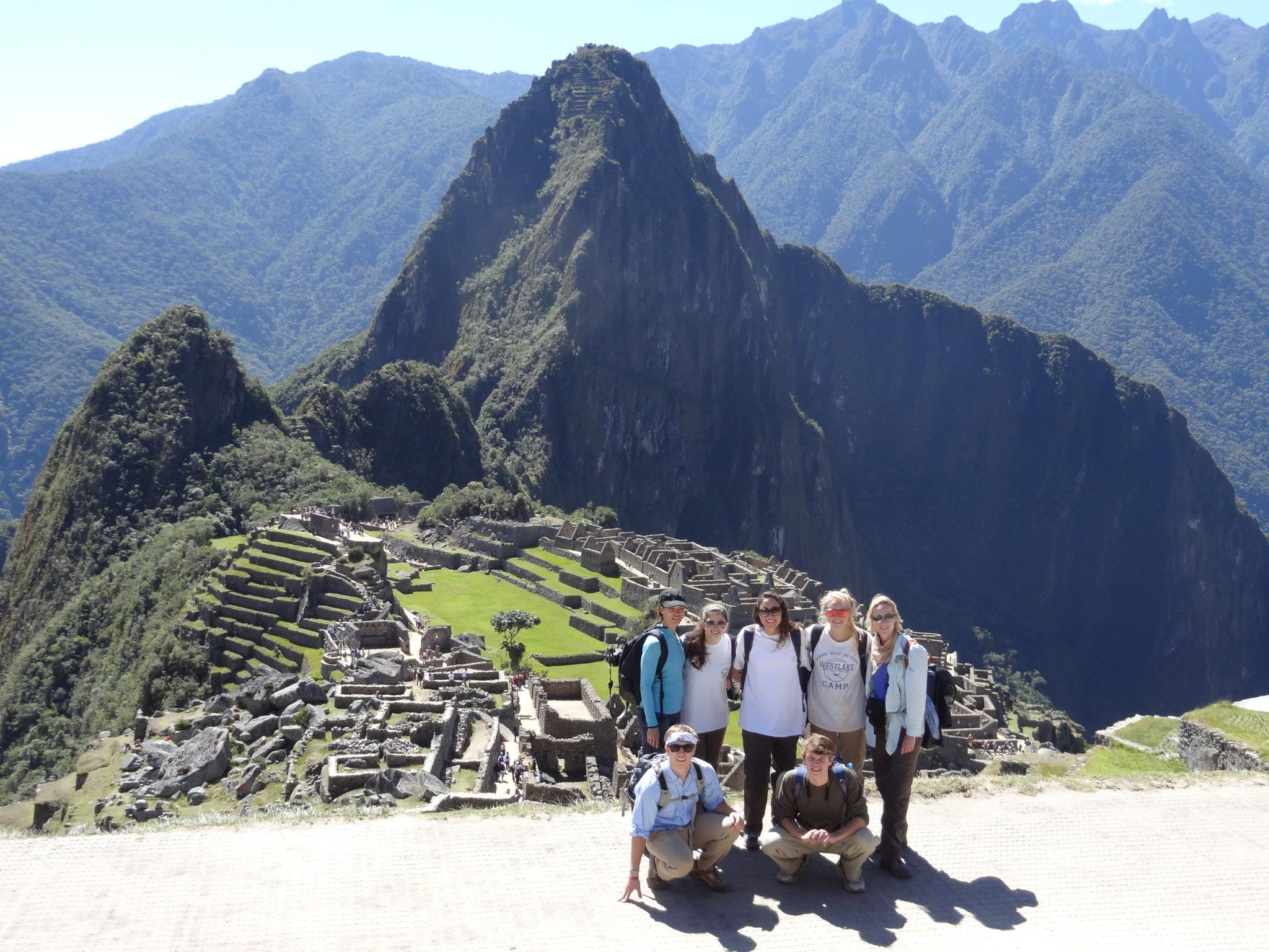 Visiting Machu Picchu in between building a playground for rural children
