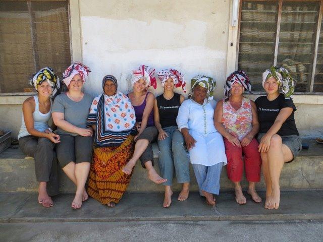 Sporting traditional headgear in Zanzibar