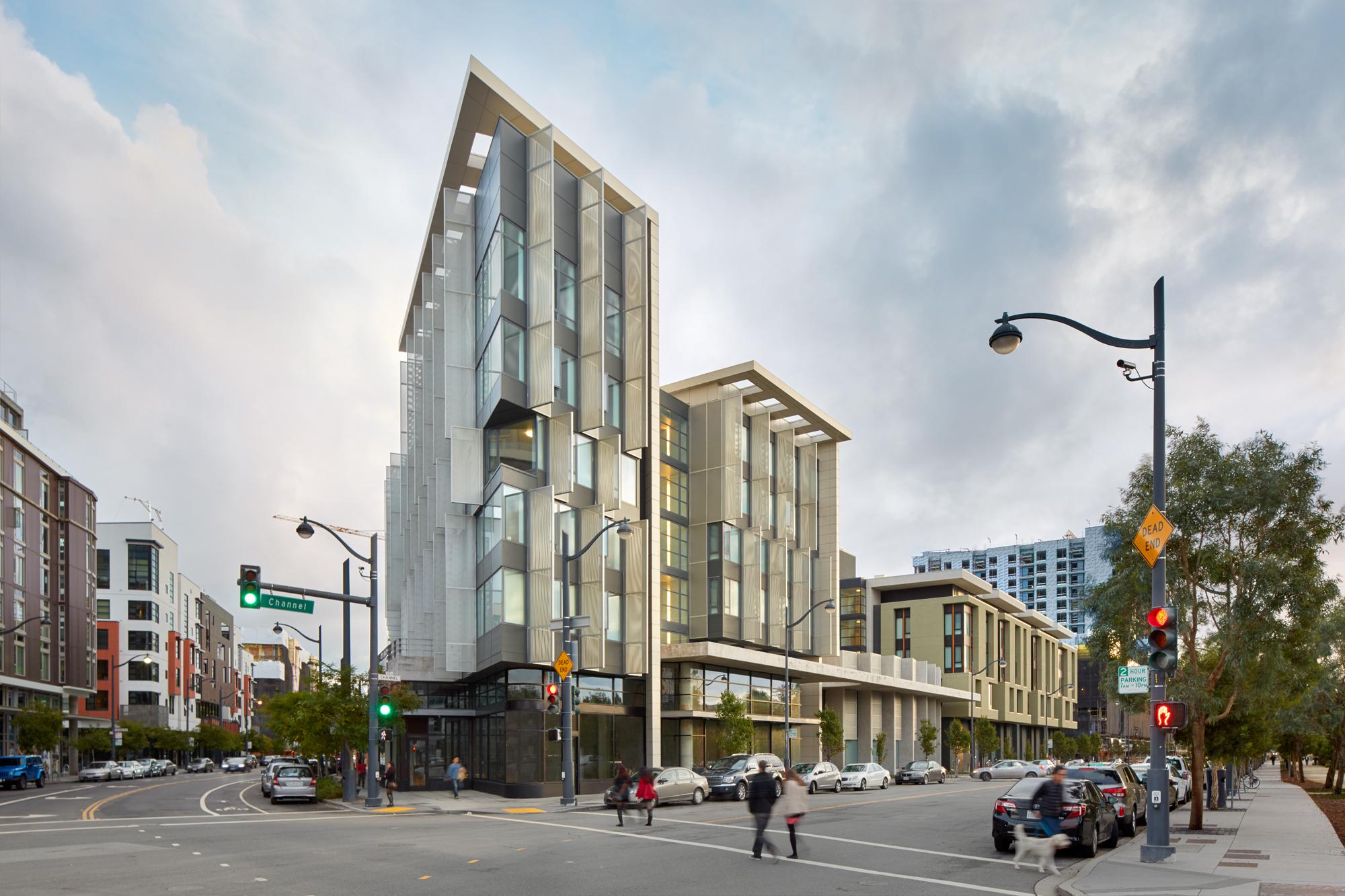1180 Fourth Street Apartments by Mithun. Photo ©  Bruce Damonte