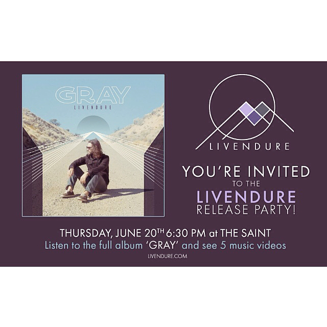 "Album release party. Thurs June 20th at @thesaintreno . A party (not a performance) to celebrate releasing my new album 'Gray'. There will be a screening of my music videos, and a listening of the full album. There will also be pizza (limited supply), and since there's a bar, DRINKS! I also ordered a limited supply of Livendure T-shirts and stickers (sticker design by @holland_oatez ), specifically for this event. So if you want Livendure merch, this is the time and place to get it, as I don't have any available online, and I'm moving to Portland this summer so I won't be reordering any for a while.  This will be a free and pretty casual event. And I know album release parties/shows are usually on the day or week of release, but life is crazy and you gotta just work with what you've got. If you're interested in coming, please RSVP on the Facebook event page.  If you've listened to the album and enjoyed it, please come and let me express my gratitude for your support, because it really does mean the world to me.  If you haven't listened to the album yet, you can use my LINK IN BIO to find it on whichever listening platform you prefer. Ideally, I would ask you to listen on Spotify, and hit that ""Follow"" button (so you are notified when I release new music) and that ""Save"" button (so Spotify's algorithms recognize that people are actually enjoying my music, not just dabbling). Thanks for reading this far, I look forward to having a good time with you all. #DIY #newmusic #releaseparty #newrelease #indie #music #grunge #electronicmusic #ambient #spotify #thesaintreno #reno #portland #musicvideo #pizza #merch #swag"