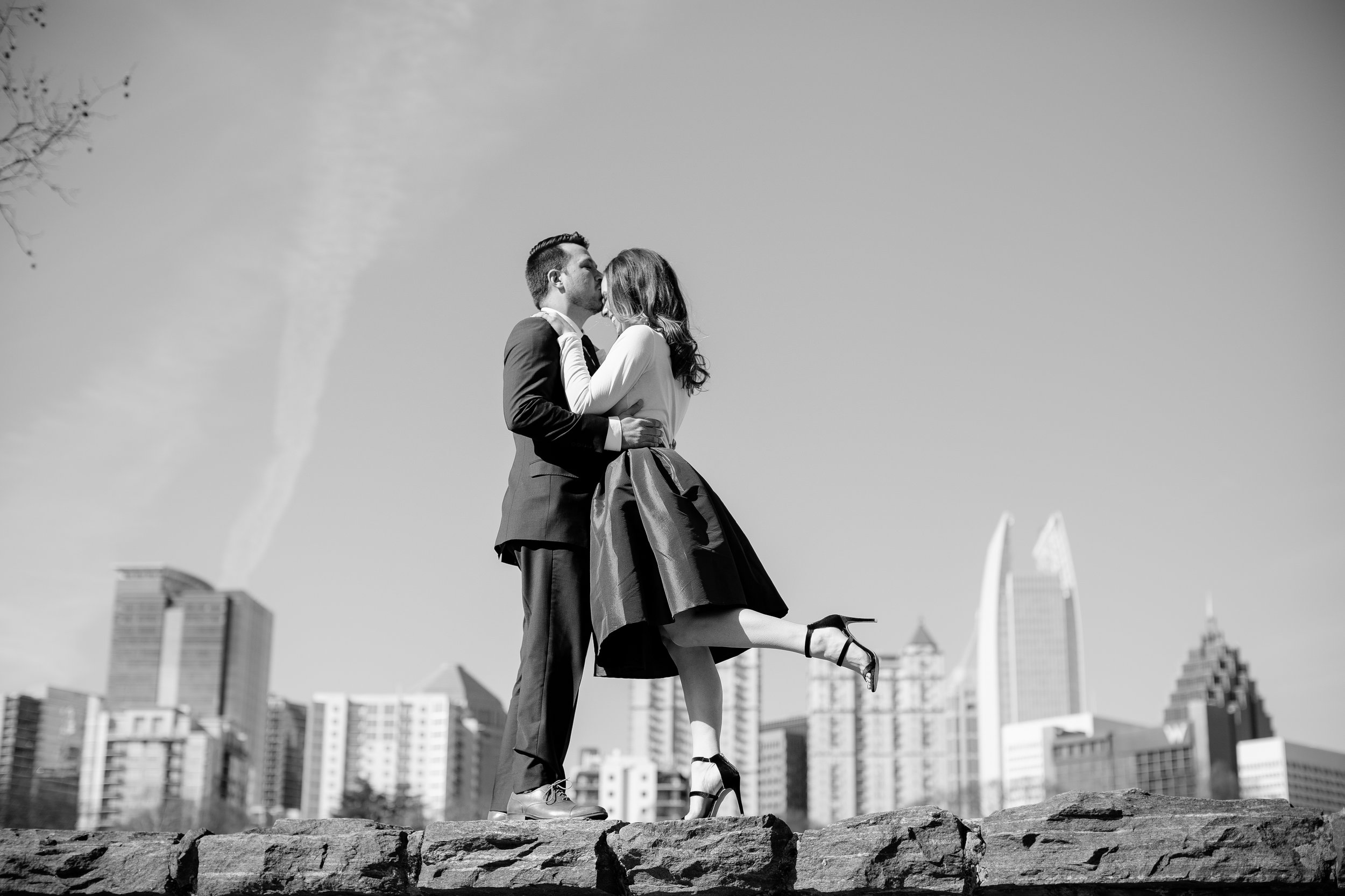 When Megan approached me for engagement photos, I was over-the-moon excited! Megan and I attended PA school together, which is also when she met the love of her life, Joe. After graduation, he swept her away to Boston for a Red Sox game where he popped the question!The two of them together exude such an energy, and they are sure to make you smile and laugh! With Megan's bubbly personality and Joe's spunky, carefree spirit, these two are a pair that cannot be matched. We spent much of the morning laughing and sharing stories while capturing their truest moments as they were just being themselves.Megan, I am so honored you chose me to share the beginning of your lifelong journey with Joe. You guys are the real deal. I cannot wait until next January (and Vegas, baby!). I hope you enjoy these as much as I do!