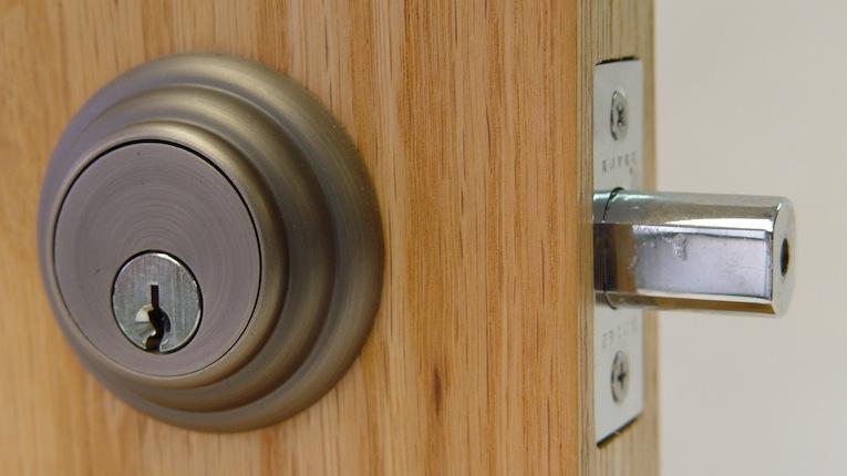 Deadbolt installation - You choose the door, we'll get it installed.