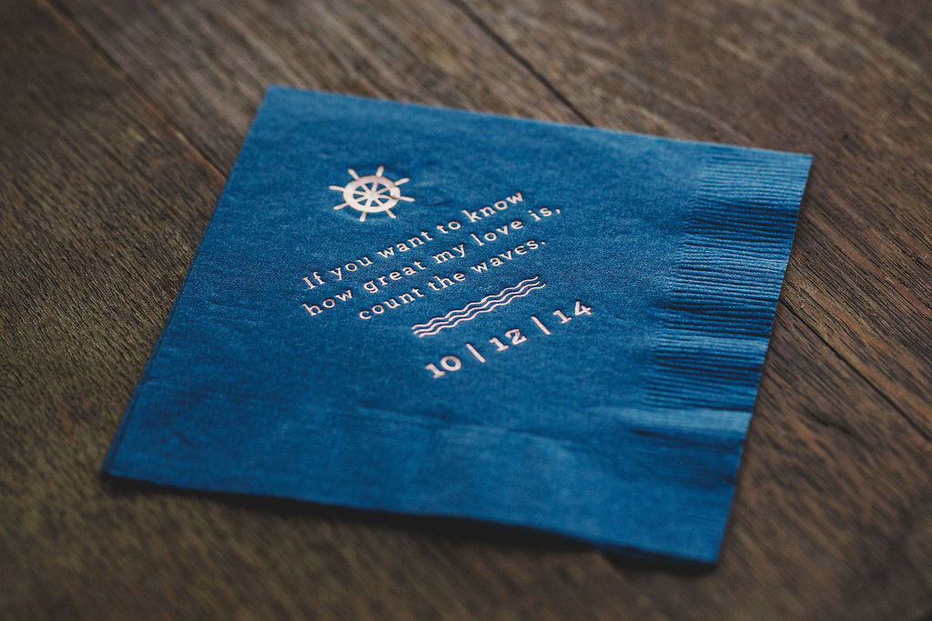 Mia Maria Design_Wedding Branding_Gloucester Massachusetts_Cocktail Napkin.jpg