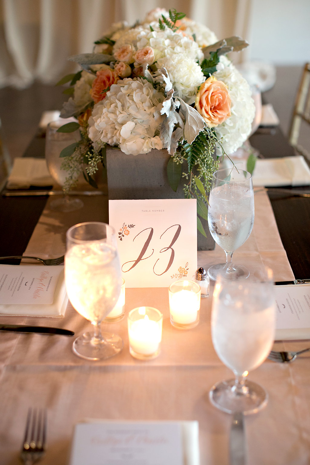 MiaMariaDesign_Peach and Grey_Atlanta GA Wedding_Table Numbers1.jpg