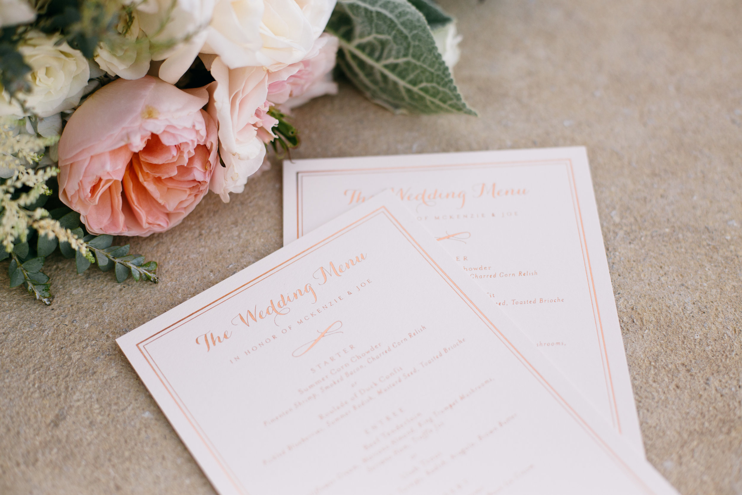 Mia Maria Design_Blush and Rose Gold Foil Menu.jpg
