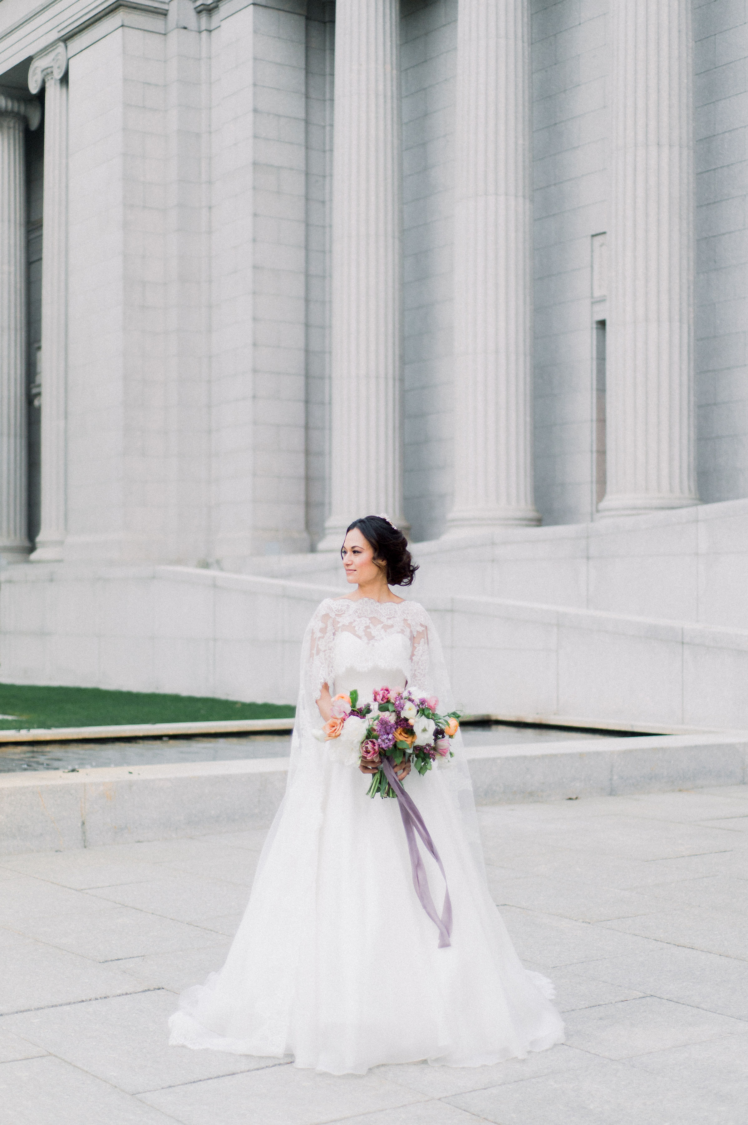 Ethereal Bridal Romance Inspiration at the Museum of Fine Arts in Boston, MA