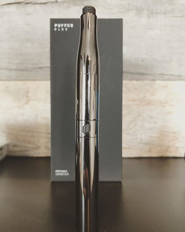 The new Puffco Plus is in. This new dab pen is revolutionary. No more messy nails. Just dip the ceramic mouth piece, screw it in, and rip it! #puffco #puffcoplus #wax #710community #dispensary #vape