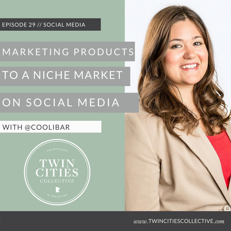 Marketing products on social to a niche market