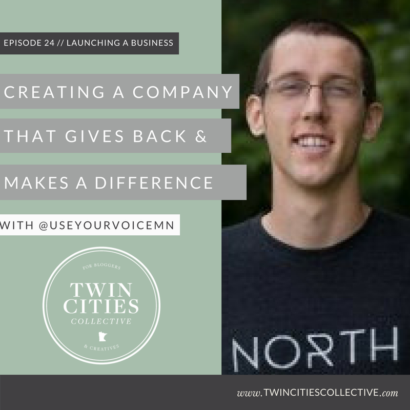 Creating a company that gives back