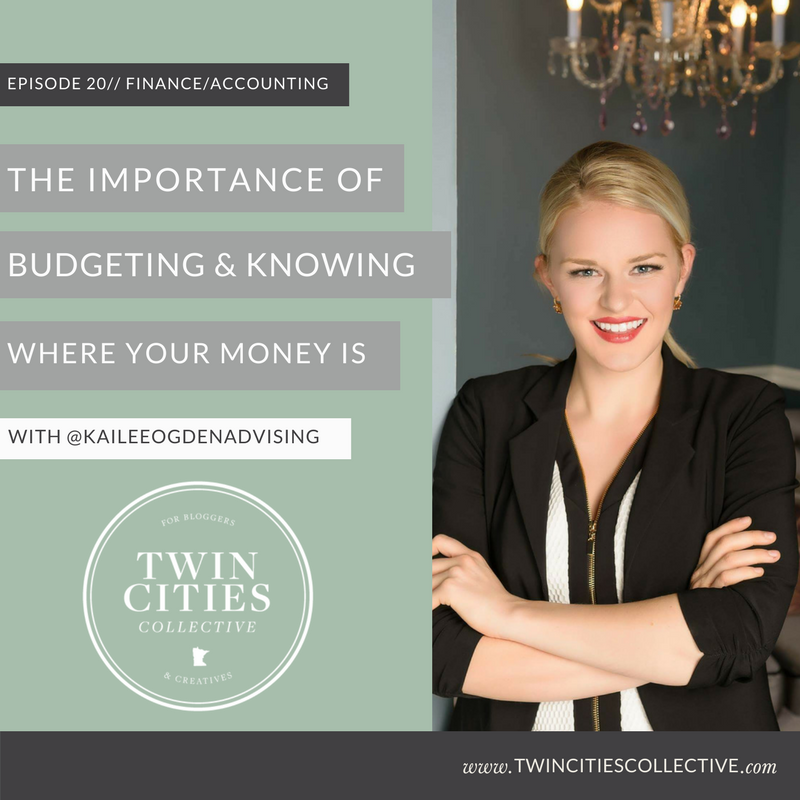 The importance of budgeting & knowing where your money is with @kaileesoderlandadvising