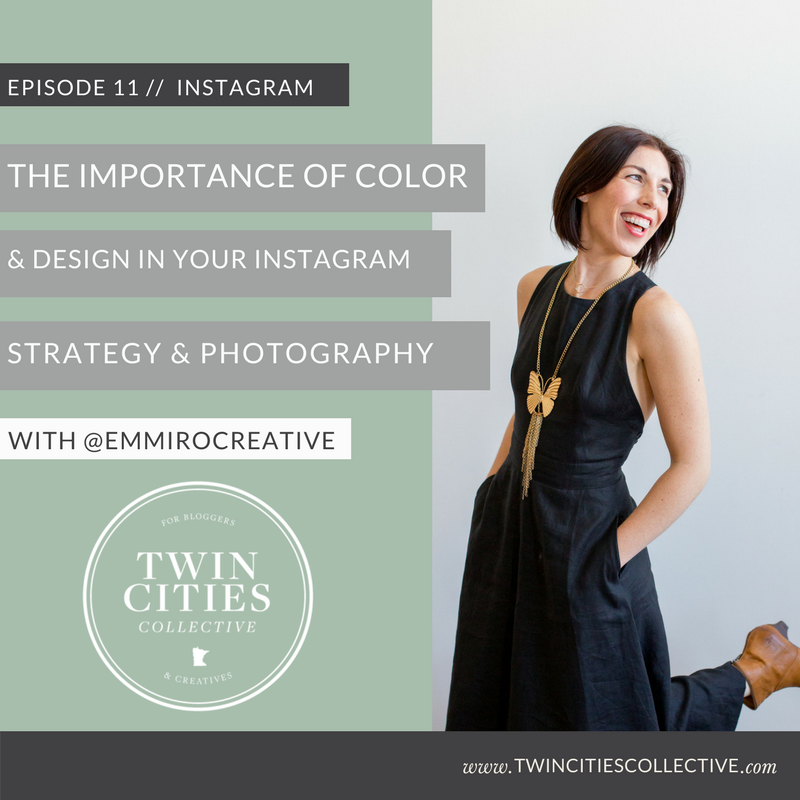 Color Theory on Instagram with @EmmiRocreative Twin Cities Collective Podcast