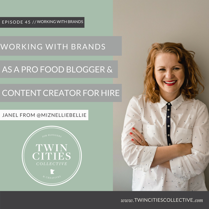 Working with Brands as a Pro Food Blogger & Content Creator for Hire with Janel of @MizNellieBellie