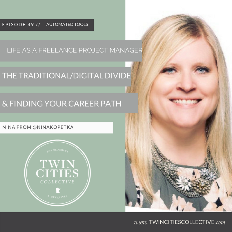 Life as a freelance project manager, the digital/traditional divide & finding your career path with @NinaKopetka