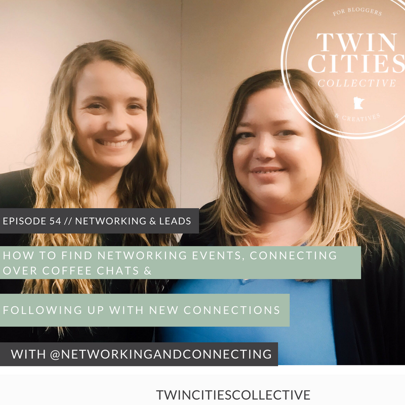 How to Find Networking Events, Connecting over Coffee Chats & Following Up with New Connections with @networkingandconnecting