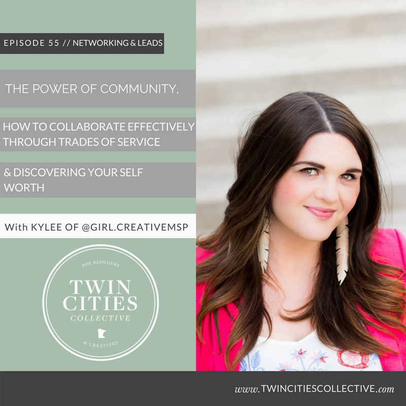 The Power of Community, How to Collaborate Effectively Through Trades of Service & Discovering Your Self Worth with @girl.creativemsp