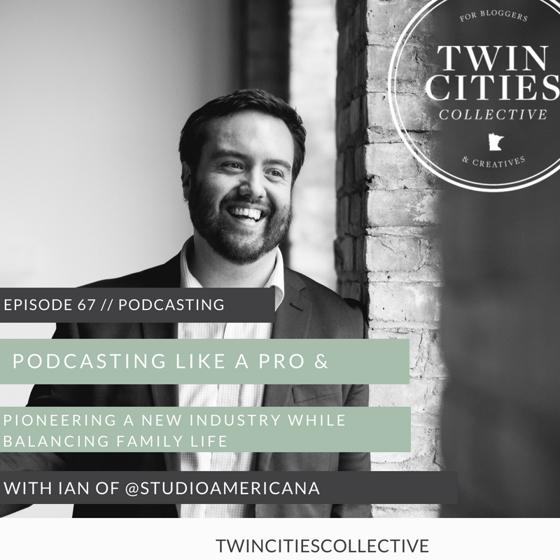 Podcasting Like a Pro & Pioneering A New Industry While Balancing Family Life with Ian of @studioamericana