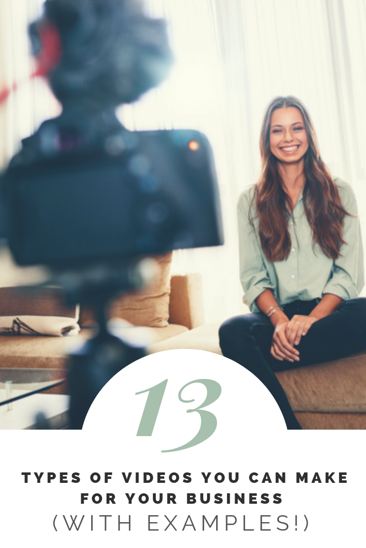 13 Types of videos you can make for your business (with examples!)