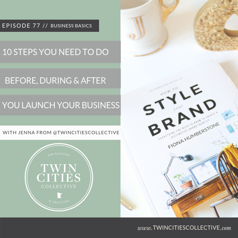 10 Steps You Need To Do Before, During & After You Launch Your Business