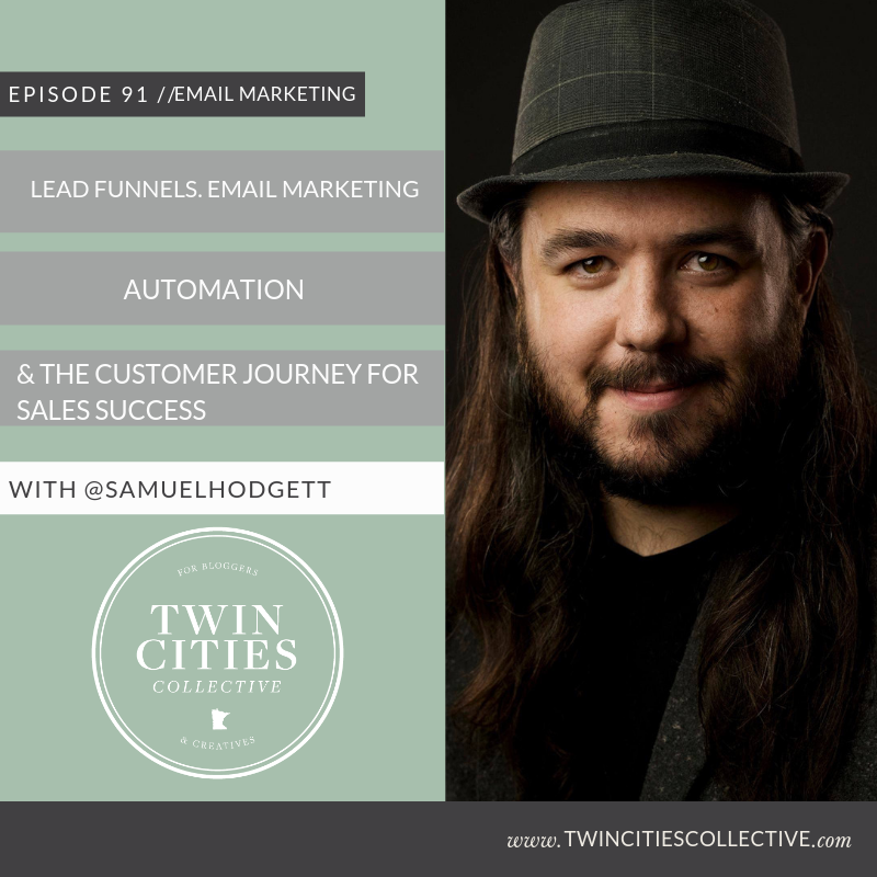 3.91 Lead Funnels, Email Marketing Automation & The Customer Journey For Sales Success Podcast with Samuel Hodgett