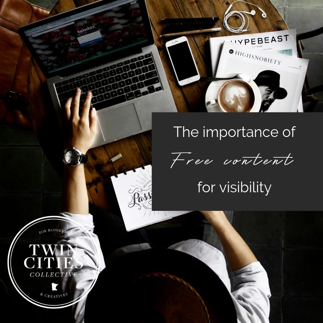 The importance of Free content for visibility