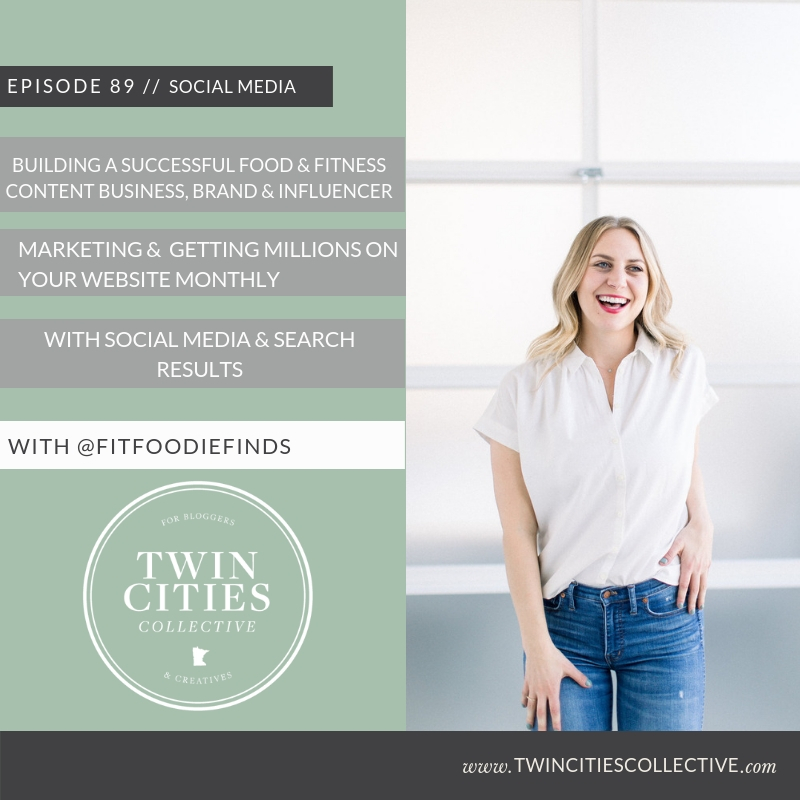 Building A Successful Food & Fitness Content Business, Brand & Influencer Marketing &  Getting Millions On Your Website Monthly with Social Media & Search Results