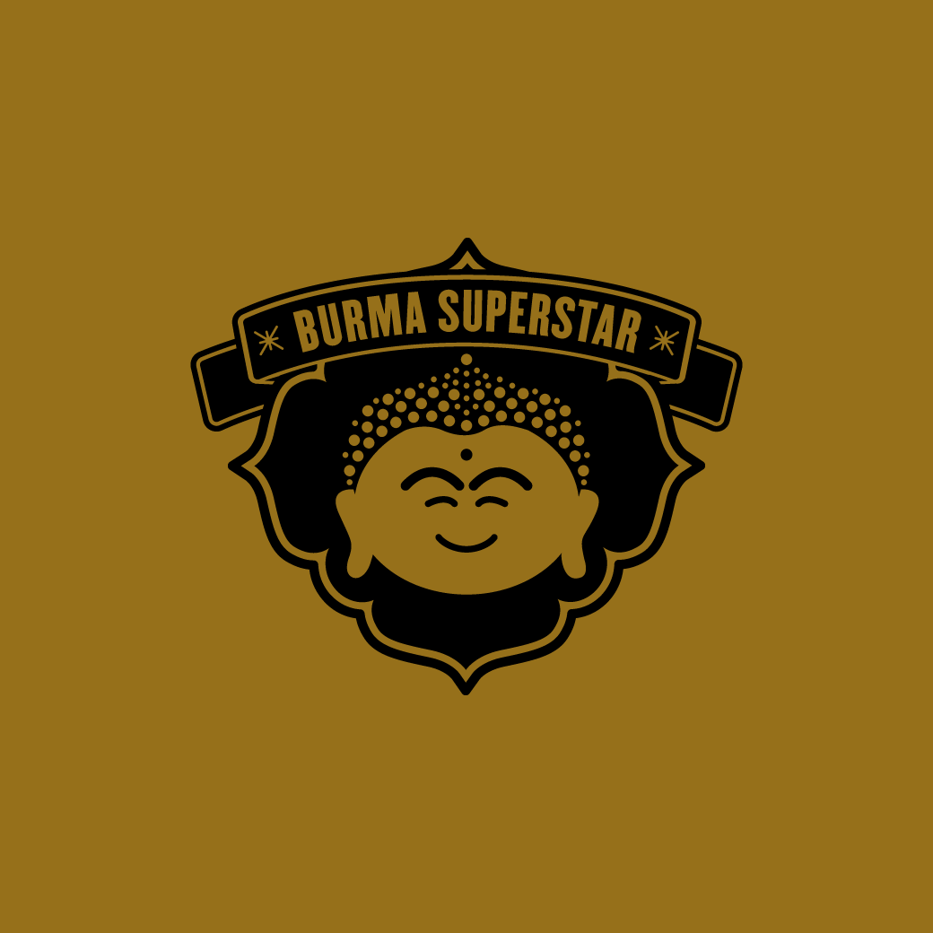Burma Superstar restaurant branding and logo