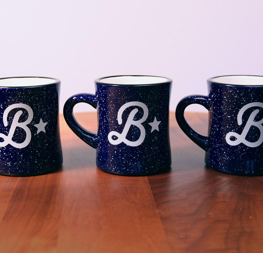 B Star restaurant branding and website design