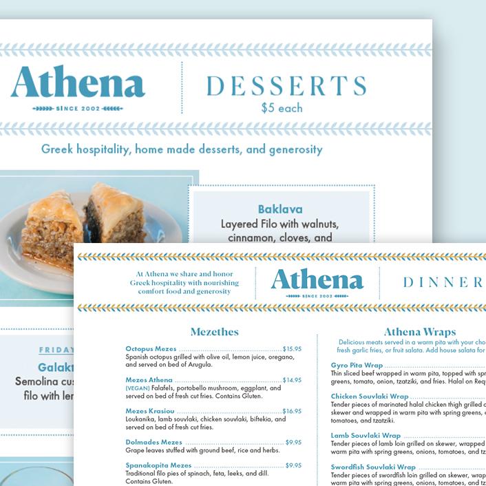 Athena Branding
