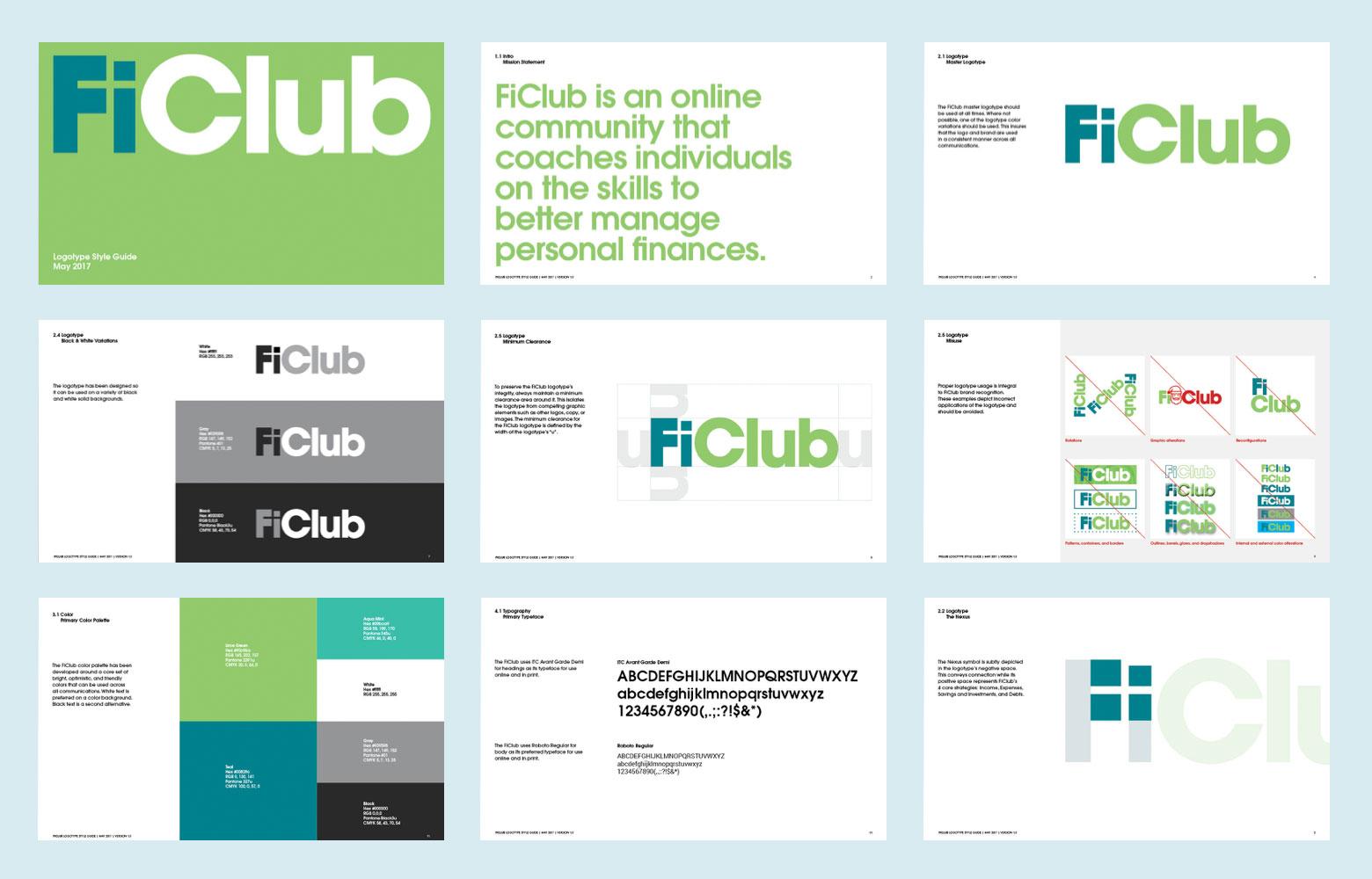 Copy of FiClub Brand Identity