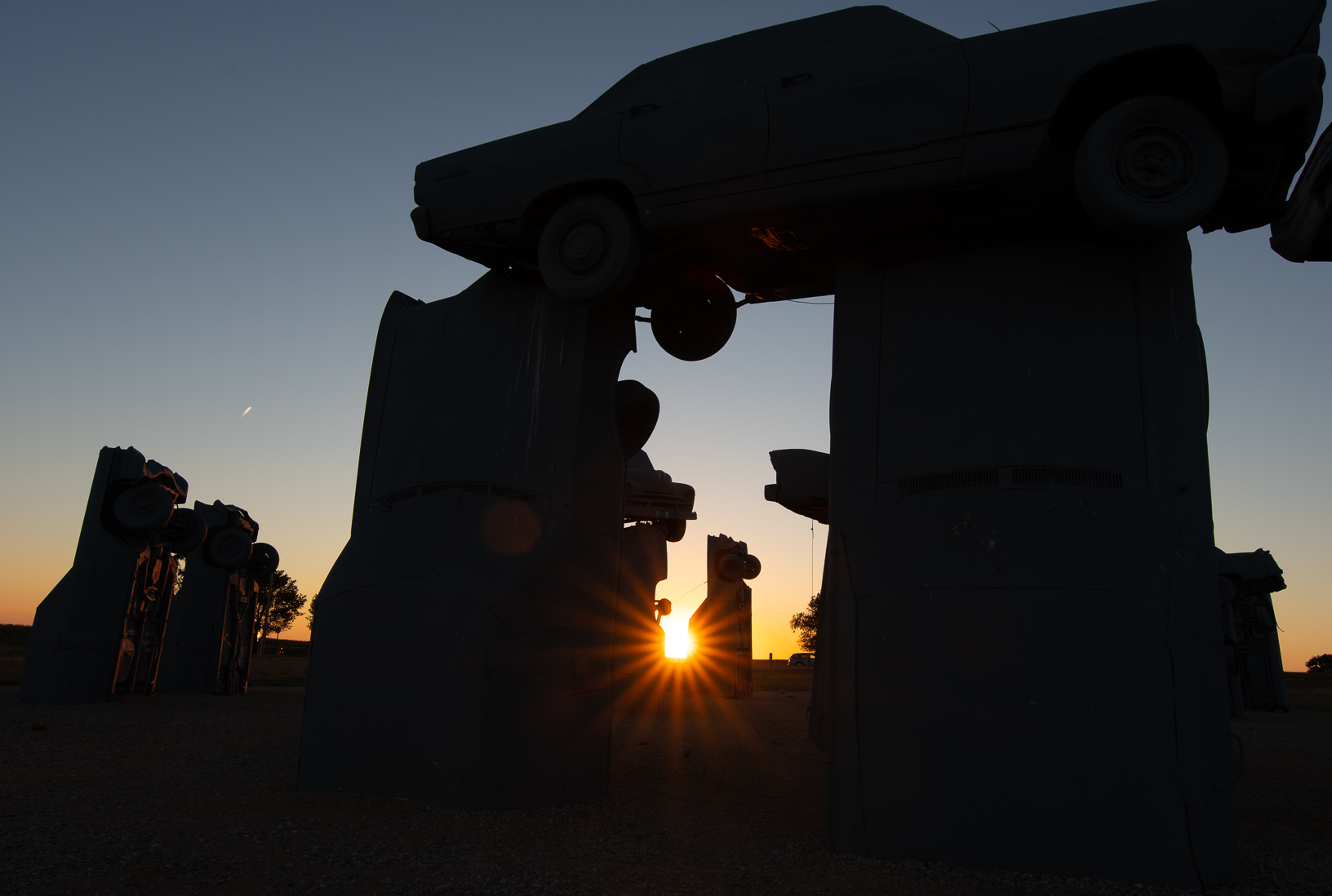 Carhenge near Alliance, Nebraska.